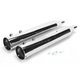 4 in. Big Louie Tip Compatible Slip-On Mufflers w/2-1/4 in. Baffle - 32005-225