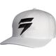 White Flex-Fit Barbolt Hat
