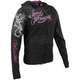 Womens Cat Out A Hell Armored Hoody