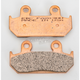 Double-H Sintered Metal Brake Pads - FA203HH
