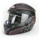 Matte Black/Black RS-1 Emblem Helmet