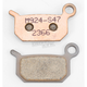 XCR Sintered Metal Brake Pads - 1721-0087