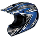 AC-X3 Agent Helmet /Adult/Blue/Black/Flat Blue/White/Female/Male