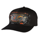 Black KTM Layout Flex-Fit Hat