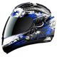 Black/White/Blue RR702 Omen Helmet