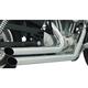 Chrome Amendment Slash-Cut Exhaust System - HD00122