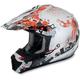 Orange Stunt FX-17 Helmet