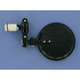 Black Franco Folding Round Bar End Mirror - 00-00200-22