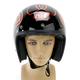 Black/Orange Custom 500 Freedom Machine Helmet