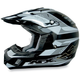 Youth FX-17Y Black Multi Helmet