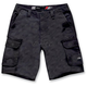 Black Reverb Cargo Shorts