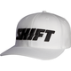 White Flex-Fit Word Hat