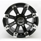 Black 393X Cast Aluminum ATV/UTV Wheel - 0230-0530