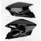 Black Rear Side Panel Number Plate - 2043410001