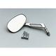 Mini American Cut Out Stem Chrome Mirror - 941050