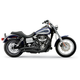 Black Swept Speedster Exhaust System w/Powerport - 6227B