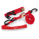 Red 1 in. Integrated Soft Hook Tie Downs - 100513