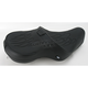 Flame Stitch Low-Profile Touring Seat w/Dual Backrest Capability - 0804-0412