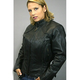 Ladies Scooter Jacket with Braided Detail