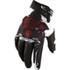 Black/Red Recon Gloves