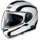 White/Black N104 N-Com Modular Helmet