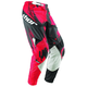 Red/Black Acryic Core Pants