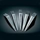 Chrome Spikes for Mach 2 - 9557
