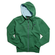 Youth Boys Green Mr Clean Zip Hoody