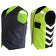 Black/Hi-Viz Green Military Duty Reversible Safety Vest