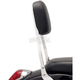 Short Square Sissy Bar w/Pad - 14 in. - 02-5614