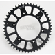 Black Anodized Rear Works Triplestar Aluminum Sprocket - 5-354749BK