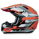 Orange Multi FX17 Helmet