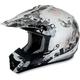 Silver Stunt FX-17 Helmet