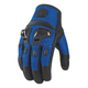 Blue Justice Mesh Gloves