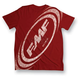 Red Spaced T-Shirt