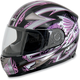 Black Pink Passion FX-90 Helmet