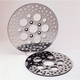 Pro Polish Stainless Steel Rear Brake Rotors - Five Shot Design - R47001PP