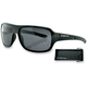 Shiny Black Informant Street Series Sunglasses - EINF001AR