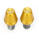 Gold Bar End V2 Weights - DBEW2-GD