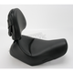 Renegade Heels Down Solo Seat w/Driver Backrest - 807-03-0041