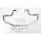 The Linbar Chrome Highway Bar w/O-Ring Footrests - 909-1