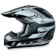 Youth FX-17Y Flat Black Multi Helmet