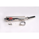 RS-3 Oval Race Slip-On with Polished Stainless Steel Muffler Sleeve - 1361255