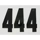 6 in. #4 Pros III - NIII-4B