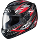Black/Red/Silver Thunder CS-R2 Helmet