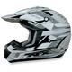 FX-17Y Pearl White Multi Youth Helmet