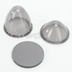 Replacement Smoke Lens Kit for LED Bullet Lights - 2040-0815
