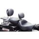 Adjustable Smooth Driver Backrest Kit w/Black Studs - 79611