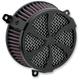 Black Swept Air Cleaner Kit - 606-0103-01B