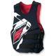 Black/Red Rev Side Entry Vest